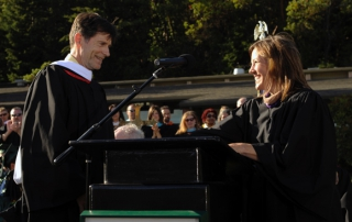 Creighton King, faculty award