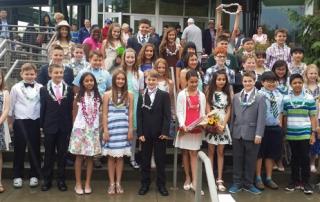 fifth grade graduation, class of 2023