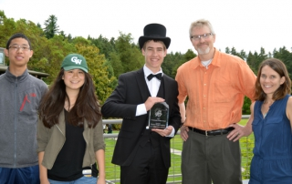 hopesparks, charles wright academy, community partnership award