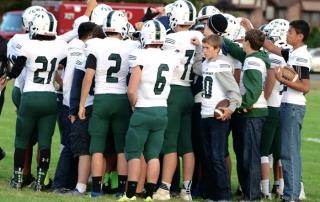 football team, high school football, high school sports