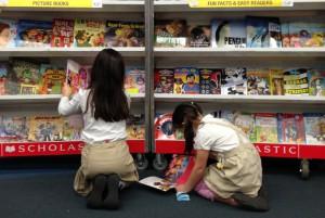 Lower School Book Fair @ LS Commons