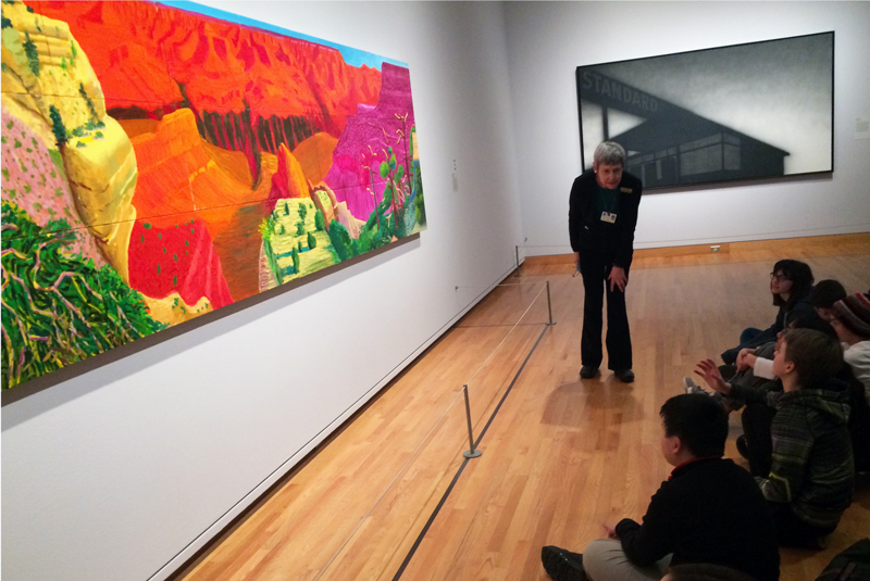 field trip, experiential education, art museum