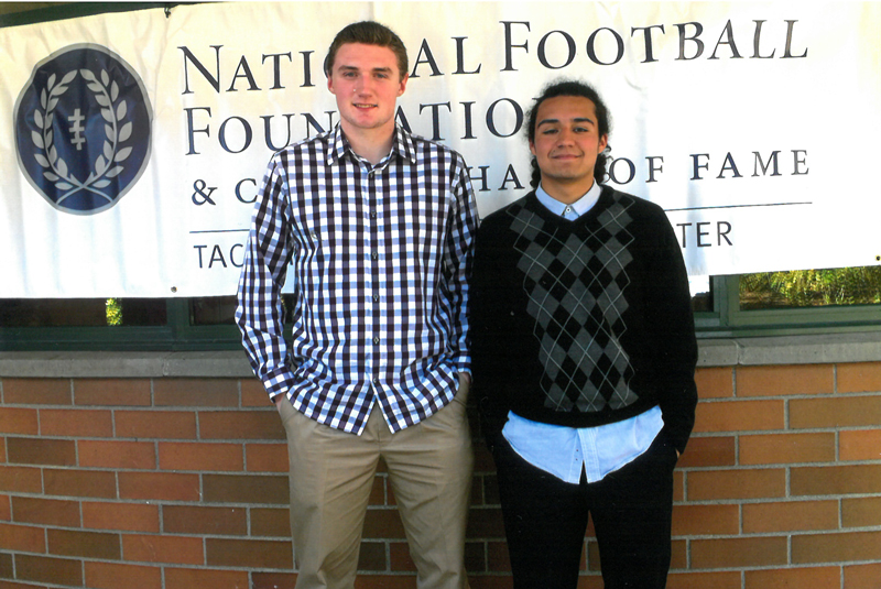 football, national football foundation, awards, honors, high school student athletes