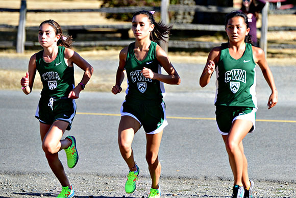 GIRLS X-COUNTRY