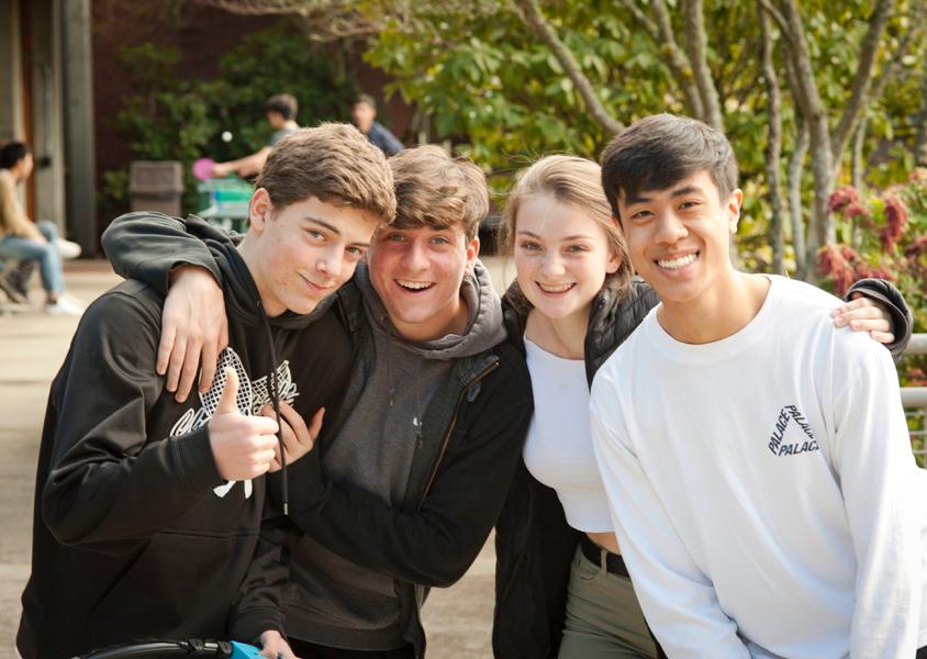 Upper School friends