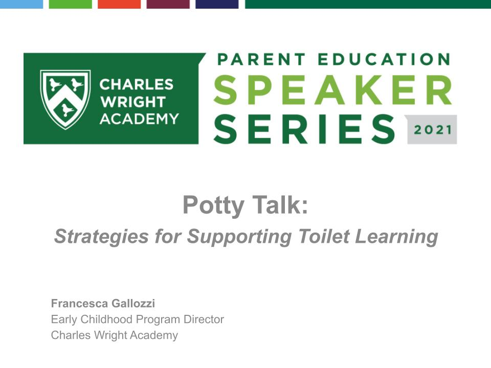 Potty Talk: Strategies for Supporting Toilet Learning - event recording